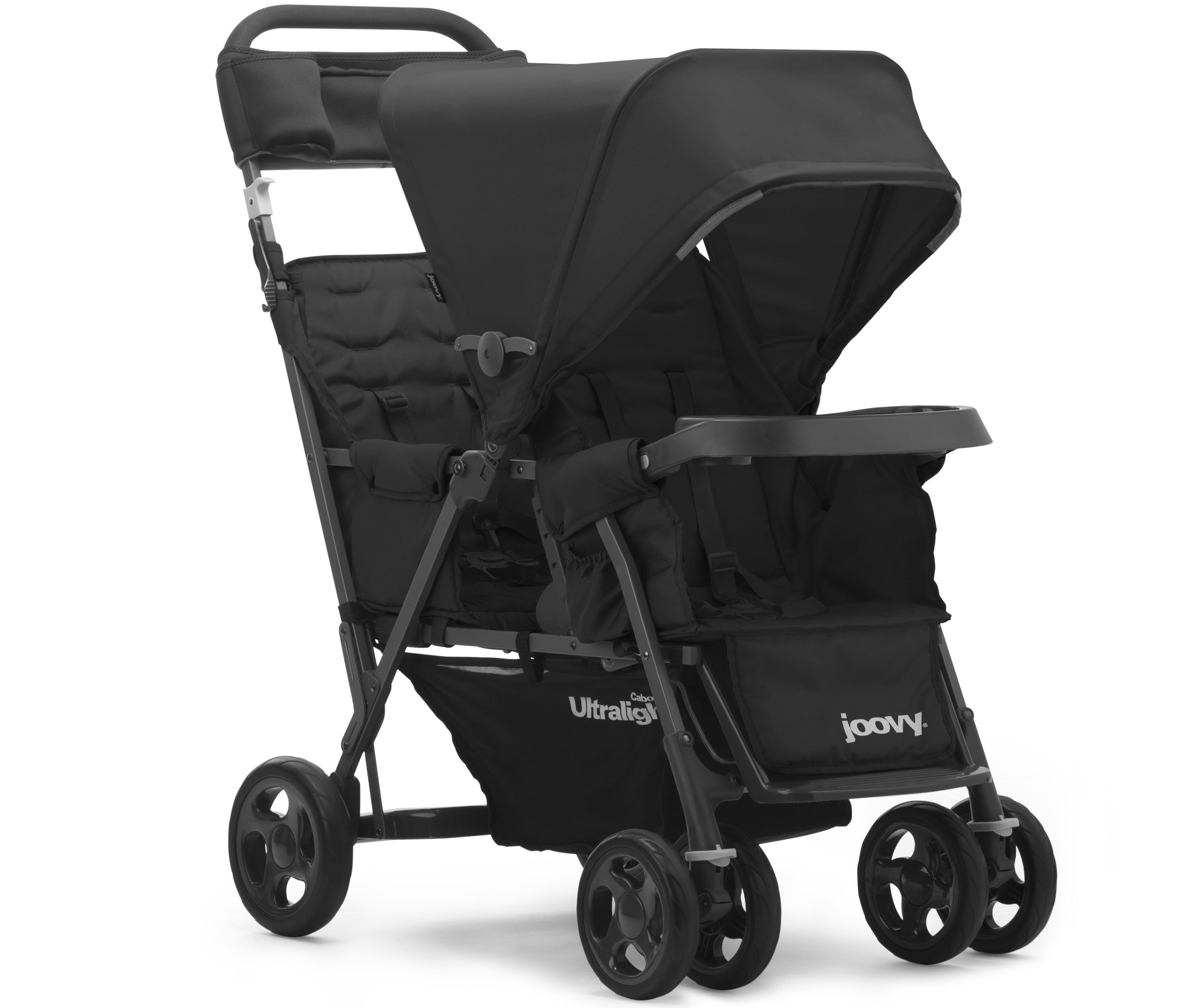 Caboose Ultralight Too Graphite Sit And Stand Stroller