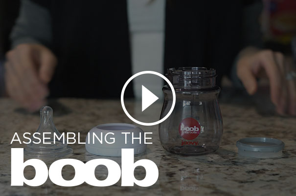 assembling the boob