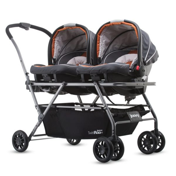 Infant Car Seat Frame Double Stroller, Double Strollers With Car Seats