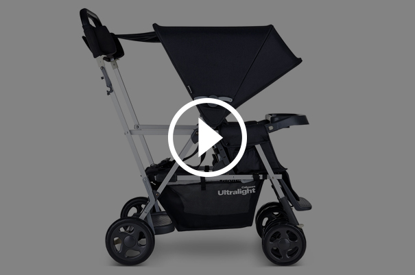 The Lightest Sit and Stand Stroller On the Market
