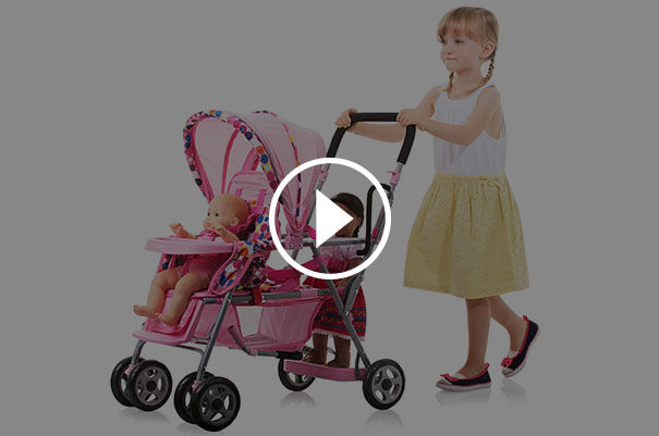 Does Everything Mom's Stroller Does!